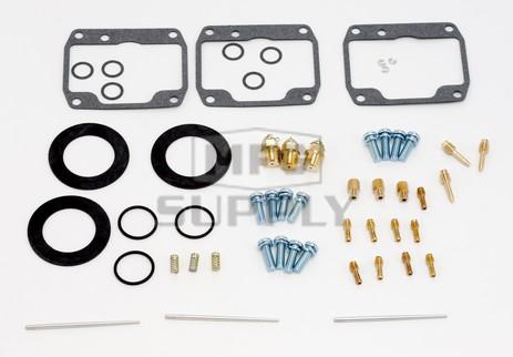 26-1795 Polaris Aftermarket Carburetor Rebuild Kit for 1986-1988 Indy 600 and 650 Model Snowmobiles