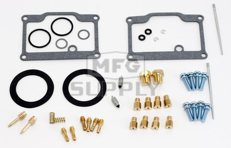 26-1796 Polaris Aftermarket Carburetor Rebuild Kit for Some 1983-1984, 1991-1999 440, 488, 500, 550 Model Snowmobiles