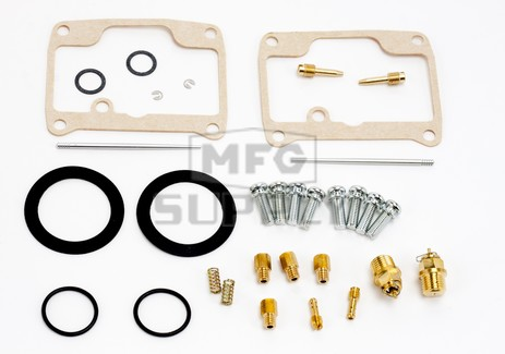 26-1808 Aftermarket Carburetor Rebuild Kit for 1997 Arctic Cat ZR440 and 1999 Polaris 440 XCF SP Model Snowmobiles