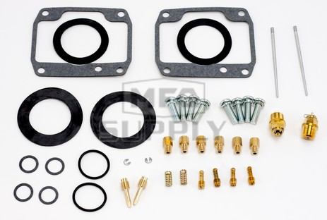 26-1810 Polaris Aftermarket Carburetor Rebuild Kit for Most 1996-2000 500 Model Snowmobiles