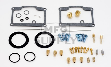 26-1819 Polaris Aftermarket Carburetor Rebuild Kit for Various 1980-1989, and 1999 440, 488/500, and 550 Model Snowmobiles