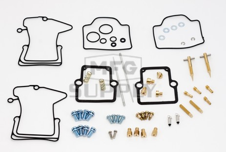 26-1824 Polaris Aftermarket Carburetor Rebuild Kit for 2001-2002 500 RMK and 2001 500 XC Model Snowmobiles