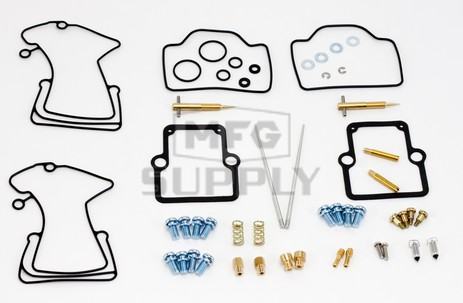 26-1841 Polaris Aftermarket Carburetor Rebuild Kit for 2001 600 RMK Model Snowmobile