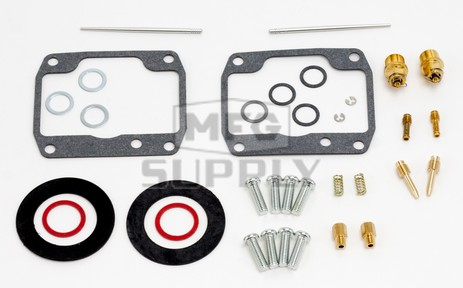 26-1918 Arctic Cat Aftermarket Carburetor Rebuild Kit for 1986 El Tigre 530 & Cheetah 530 Model Snowmobiles