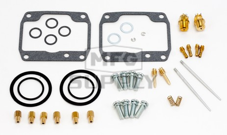 26-1919 Arctic Cat Aftermarket Carburetor Rebuild Kit for Most 2000-2003 ZL 550/ESR and 1990 El Tigre EXT 530 L/C Model Snowmobiles