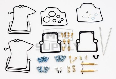 26-1926 Arctic Cat Aftermarket Carburetor Rebuild Kit for 2001-2002 ZR 600 Model Snowmobiles