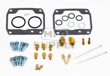 26-1954 Arctic Cat Aftermarket Carburetor Rebuild Kit for Some 1998-2000 ZL & ZR 500 and ZR 600 Model Snowmobiles
