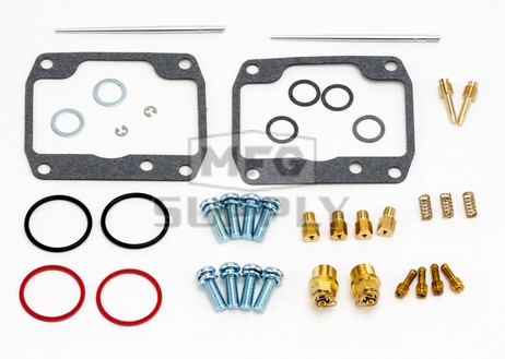 26-1956 Arctic Cat Aftermarket Carburetor Rebuild Kit for 1995-1996 EXT 580 & 1994-1996 ZR 580 Model Snowmobiles