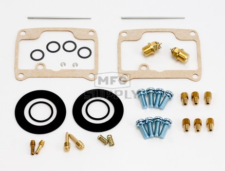 26-1961 Polaris Aftermarket Carburetor Rebuild Kit for Some 1996-1997 440 XC & XCR Model Snowmobiles