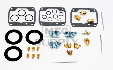 26-1968 Polaris Aftermarket Carburetor Rebuild Kit for Various 1989-1994 600 & 650 Model Snowmobiles