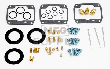 26-1969 Polaris Aftermarket Carburetor Rebuild Kit for Various 1996-1998 600 & 700 Model Snowmobiles