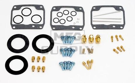 26-1971 Polaris Aftermarket Carburetor Rebuild Kit for Most 1996-1998 Ultra Model Snowmobiles