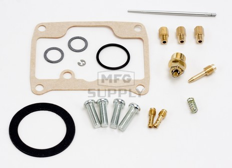 26-1977 Ski-Doo Aftermarket Carburetor Rebuild Kit for 1989 Safari Cheyenna and 1993-2005 Tundra Model Snowmobiles