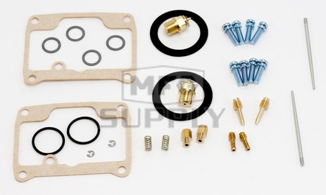 26-1982 Ski-Doo Aftermarket Carburetor Rebuild Kit for 1990-1991 Safari LX / LXE Model Snowmobiles