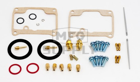 26-1984 Ski-Doo Aftermarket Carburetor Rebuild Kit for 1997-1999 Skandic Wide Track LC Model Snowmobiles