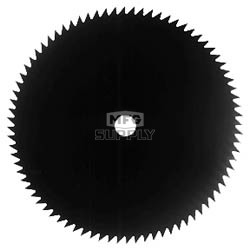 "27-4400 - 9"" Brush Blade 80T, 1"" Bore"