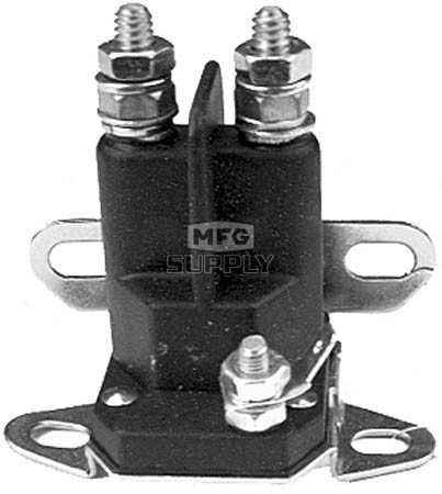 31-10771mu - Universal Starter Solenoid. 3 pole, 12 volt. Replaces Murray 424285, 924285, 21261, 24285