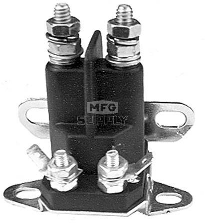 31-10772bo - Universal Starter Solenoid. 4 pole, 12 volt. Replaces Bolens 1752137, 1753539
