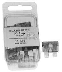 31-8089 - ATC 30 Amp Fuses-Green Sold Individually