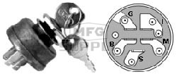 31-9158 - Ignition Switch replaces AYP 158913