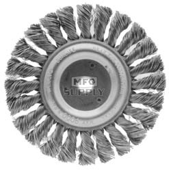 "32-8604 - 6"" Knot Type Wire Wheel 1/2"" ID"