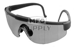 32-8618 - Clear Lens, Green Frame Safety Glasses