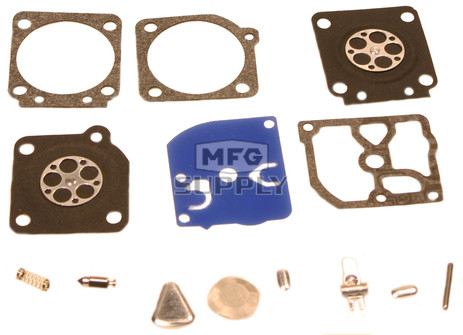 38-13185 - Gasket & Diaphragm kit replaces Zama RB-69