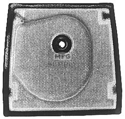 39-3108 - Mcculloch 21422 Air Filter. Fits McCulloch 600, 610, 650, 800.