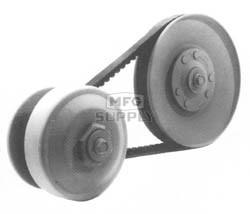 """209133A-W1 - 40D Driven Clutch, 7-1/2"""" dia, 3/4"""" Bore, 3/16"""" key for Brister Chuck Wagon ATV."""