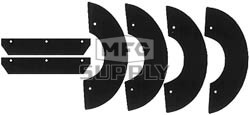 41-5504 - Snowblower Paddles for Gilson