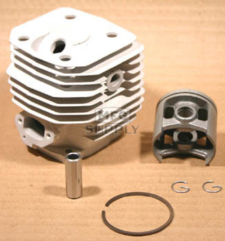44044 - Stihl 038/MS380 Cylinder & Piston Assembly. 52mm