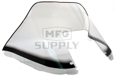 "450-231-10 - Polaris Medium 12"" Windshield Graphic Clear. Old Generation Style Hood."