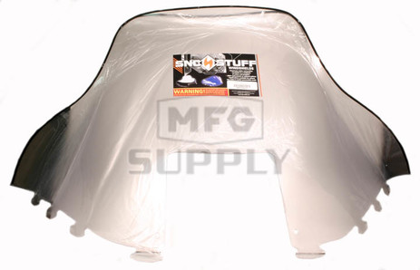 """450-235-01 - Polaris High 19-1/2"""" Windshield Clear. Old Generation Style Hood."""