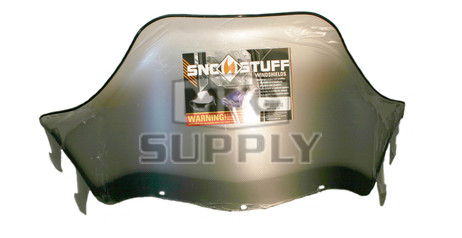 """450-239-10 - Polaris High 15"""" Windshield Graphic Clear. Agressive Style Hood."""