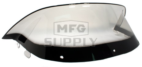 "450-240-03 - Polaris Low 9-1/2"" Windshield Graphic Smoke. New Generation Style Hood."