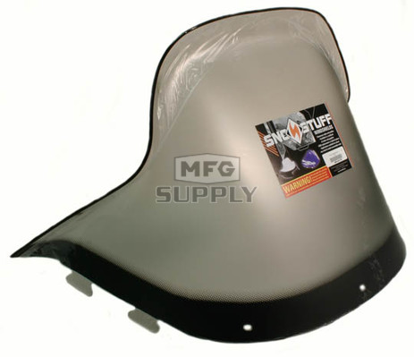 "450-241-03 - Polaris Standard 17-3/4"" Windshield Graphic Smoke. New Generation Style Hood."
