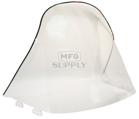 "450-242-01 - Polaris High 20"" Windshield  Clear. New Generation Style Hood."
