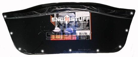 450-468-50 - Ski-Doo Low (Insert Only) Black Windshield. Ski-Doo F-2000/S-2000 Series Hood w/Support Pod.