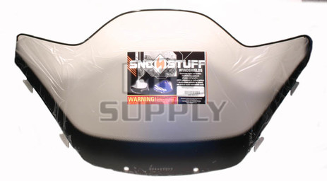 "450-643-03 - Yamaha Low 11"" Black Graphics on Smoke Windshield. SX Chassis."