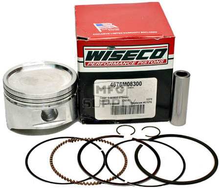 4676M08300 - Wiseco Piston for Yamaha 400cc Std size.