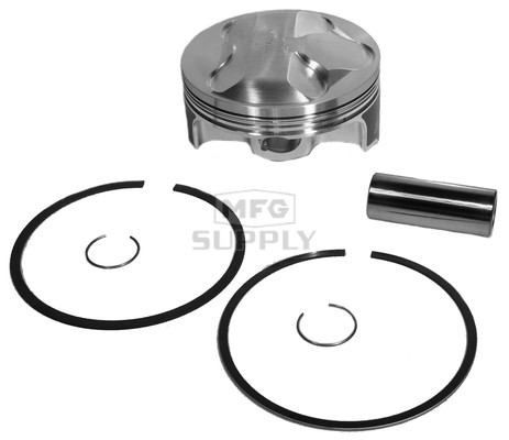 4737M10100 - Wiseco Piston for Yamaha 660 cc engine. Hi-compression. .040 oversize.