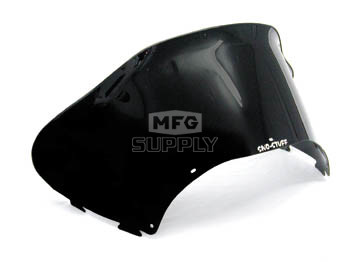 479-173-50 - Arctic Cat Low Flared Windshield Solid Black