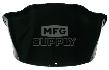 479-213-50 - Polaris Generation II Med-Low Solid Black Flared Windshield
