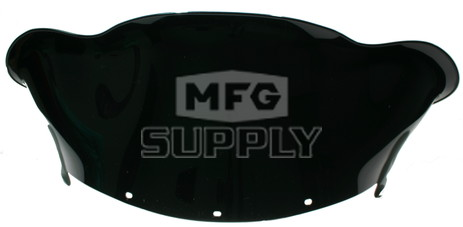 479-251-50 - Polaris Low Flared Solid Black Windshield