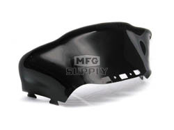 479-477-50 - Ski-Doo Med-Low Flared Solid Black Windshield for ZX Chassis.