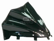 480-200-50 - Polaris Gloss Black Peak Windshield. Newer RMK & IQ Chassis.