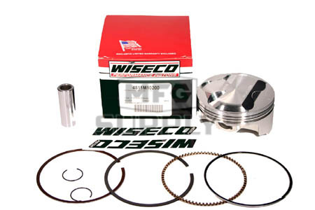 4811M10200 - Wiseco Piston for Yamaha 660 cc engine. Hi-compression. .080 oversize.