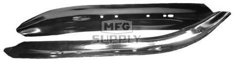 499-600 - Yamaha Ski Insert Black. (Pair)