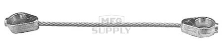 "5-10686 - MTD Brake Cable fits 42"" deck mowers."