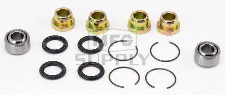 50-1022 Suzuki Aftermarket Front Upper & Lower A-Arm Bearing & Seal Kit for Some 1985 -1988 230 & 250 Model ATV's